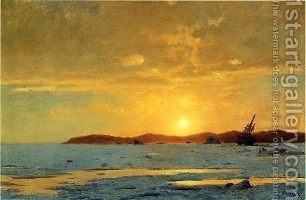 The Panther, Icebound by William Bradford - Reproduction Oil Painting