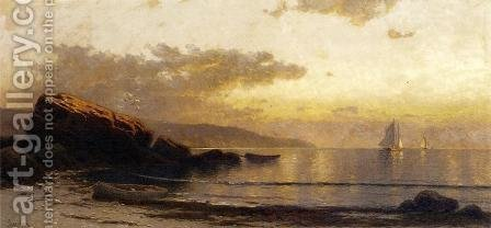 Sunset Coast by Alfred Thompson Bricher - Reproduction Oil Painting