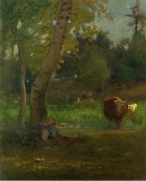 Reproduction oil paintings - George Inness - Near Montclair