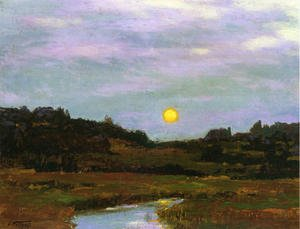 Reproduction oil paintings - George Inness - Harvest Moon