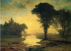 Reproduction oil paintings - George Inness - The Elm