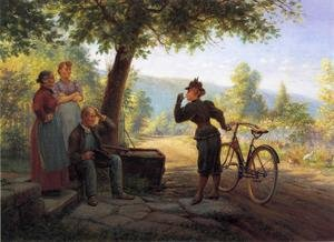 Famous paintings of Bicycling: The New Woman
