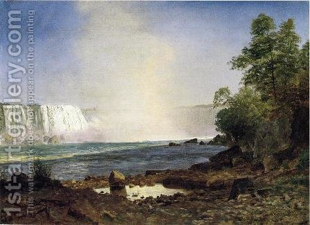 Niagara Falls by Albert Bierstadt - Reproduction Oil Painting