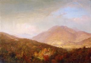 Reproduction oil paintings - William Trost Richards - Autumn in the Adirondacks