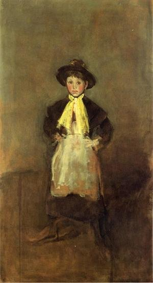 James Abbott McNeill Whistler reproductions - The Chelsea Girl