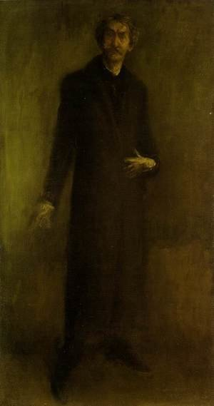 Reproduction oil paintings - James Abbott McNeill Whistler - Brown and Gold