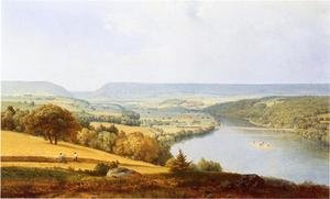 Reproduction oil paintings - George Inness - Delaware Water Gap I
