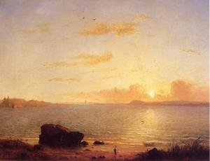 Reproduction oil paintings - George Inness - Phantom Sea