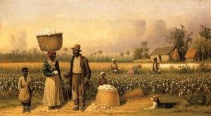 Famous paintings of Black Art: Cotton Pickers I