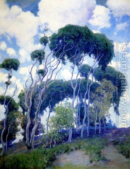 Laguna Eucalyptus by Guy Rose - Reproduction Oil Painting