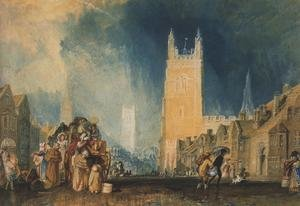 Reproduction oil paintings - Turner - Stamford, Lincolnshire