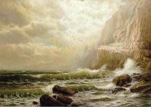 Reproduction oil paintings - William Trost Richards - Cliffs of Dover