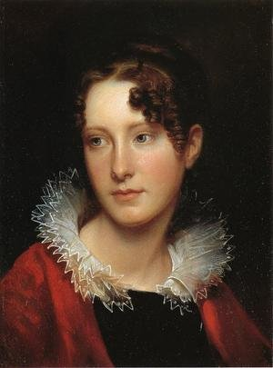 Reproduction oil paintings - Rembrandt Peale - Portrait of Rosalba Peale