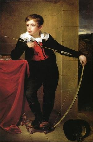 Reproduction oil paintings - Rembrandt Peale - Boy from the Taylor Family