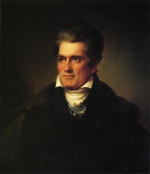 Reproduction oil paintings - Rembrandt Peale - John C. Calhoun