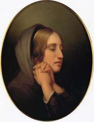 Reproduction oil paintings - Rembrandt Peale - Pearl of Grief