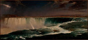 Famous paintings of Clouds & Skyscapes: Niagara Falls