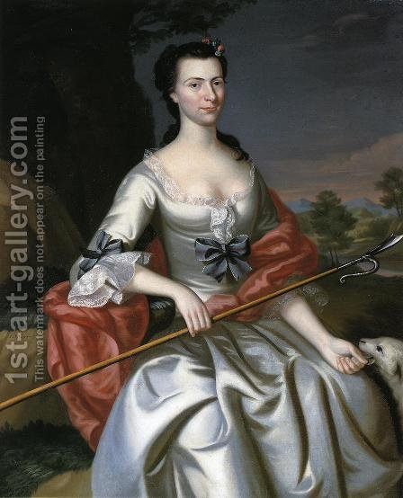 Ann Tyng by John Singleton Copley - Reproduction Oil Painting