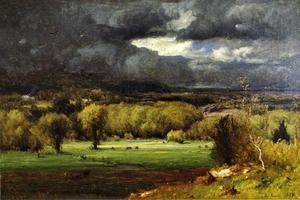 Reproduction oil paintings - George Inness - The Coming Storm III