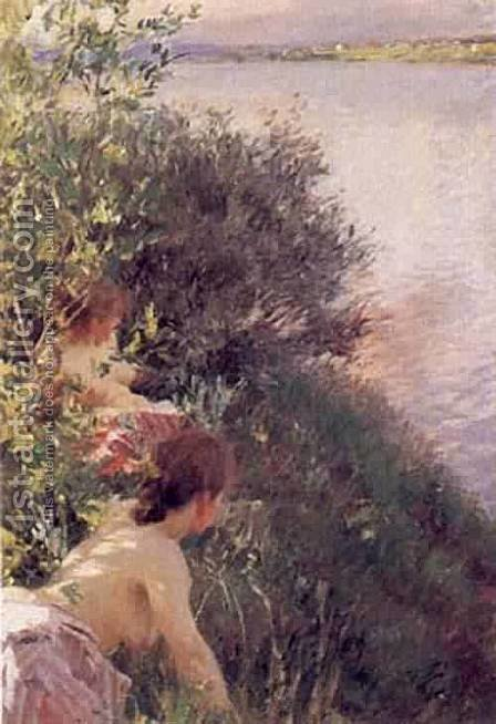Opal by Anders Zorn - Reproduction Oil Painting