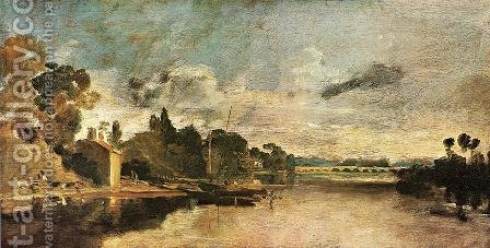 Turner: The Thames near Walton Bridges - reproduction oil painting