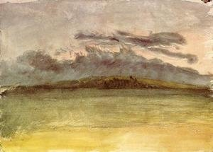 Reproduction oil paintings - Turner - Storm-Clouds: Sunset