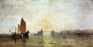 Reproduction oil paintings - Turner - The Chain Pier, Brighton