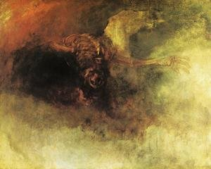 Reproduction oil paintings - Turner - Death on a Pale Horse