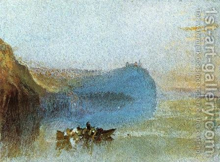 Turner: Scene on the Loire - reproduction oil painting