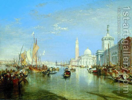 Turner: Venice: The Dogana and San Giorgio Maggiore - reproduction oil painting