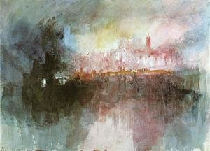 Reproduction oil paintings - Turner - The Burning of the Houses of Parliament