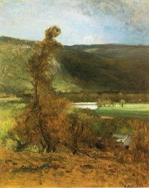Reproduction oil paintings - George Inness - l vacher