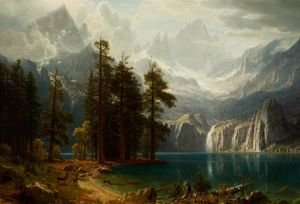 Reproduction oil paintings - Albert Bierstadt - Sierra Nevada I