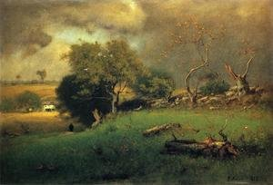 Reproduction oil paintings - George Inness - The Storm II