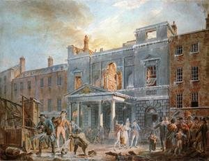 Reproduction oil paintings - Turner - The Pantheon, the Morning after the Fire