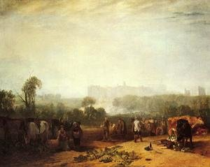 Reproduction oil paintings - Turner - Ploughing up Turnips, near Slough