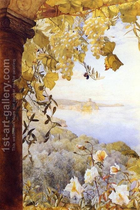 Italy by Henry Roderick Newman - Reproduction Oil Painting