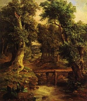 Reproduction oil paintings - George Inness - Summer Morning