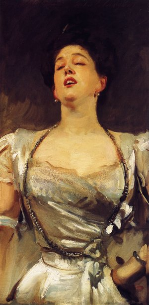 Reproduction oil paintings - Sargent - Mrs. George Batten (Mabel Veronica Hatch)