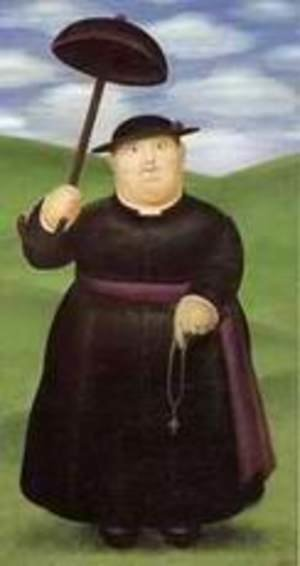 Famous paintings of Parasols and Umbrellas: Priest