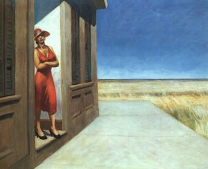 Reproduction oil paintings - Edward Hopper - Carolina Morning