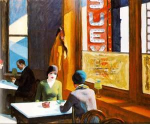 Reproduction oil paintings - Edward Hopper - Chop Suey
