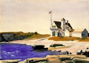 Reproduction oil paintings - Edward Hopper - Coast Guard Station