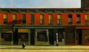 Edward Hopper reproductions - Early Sunday Morning