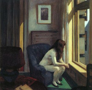 Reproduction oil paintings - Edward Hopper - Eleven AM