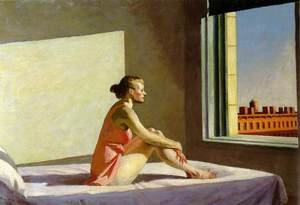 Reproduction oil paintings - Edward Hopper - Morning Sun