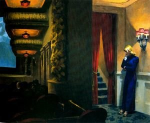 Reproduction oil paintings - Edward Hopper - New York Movie