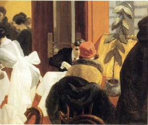 Reproduction oil paintings - Edward Hopper - New York Restaurant