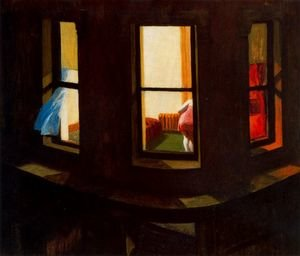 Reproduction oil paintings - Edward Hopper - Night Windows