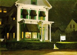 Reproduction oil paintings - Edward Hopper - Rooms for Tourists